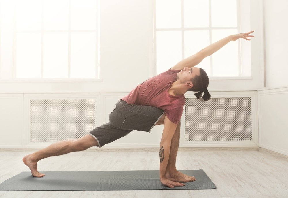 Pilates barre workout